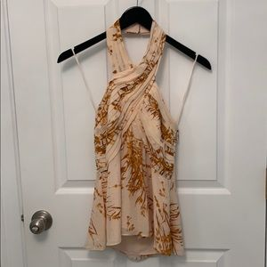 Gorgeous halter top by Joie. NWT